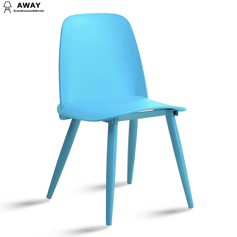 scandinavian design nerd chair replica sky blue