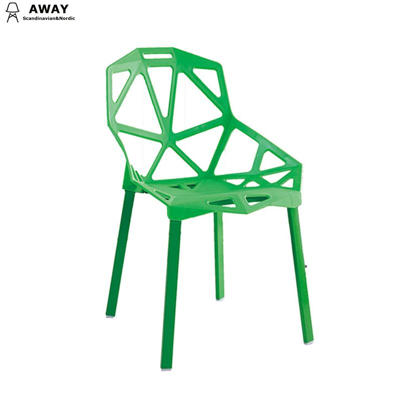 Magis Chair stylish side chair green