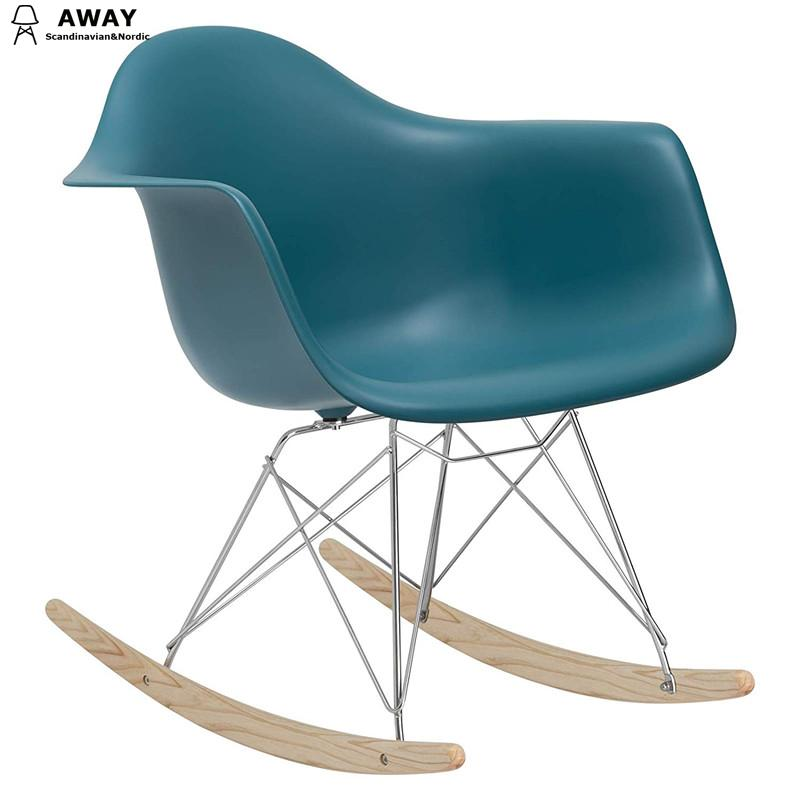 RAR Rocking Chair Mid Century Style Premium Quality Teal