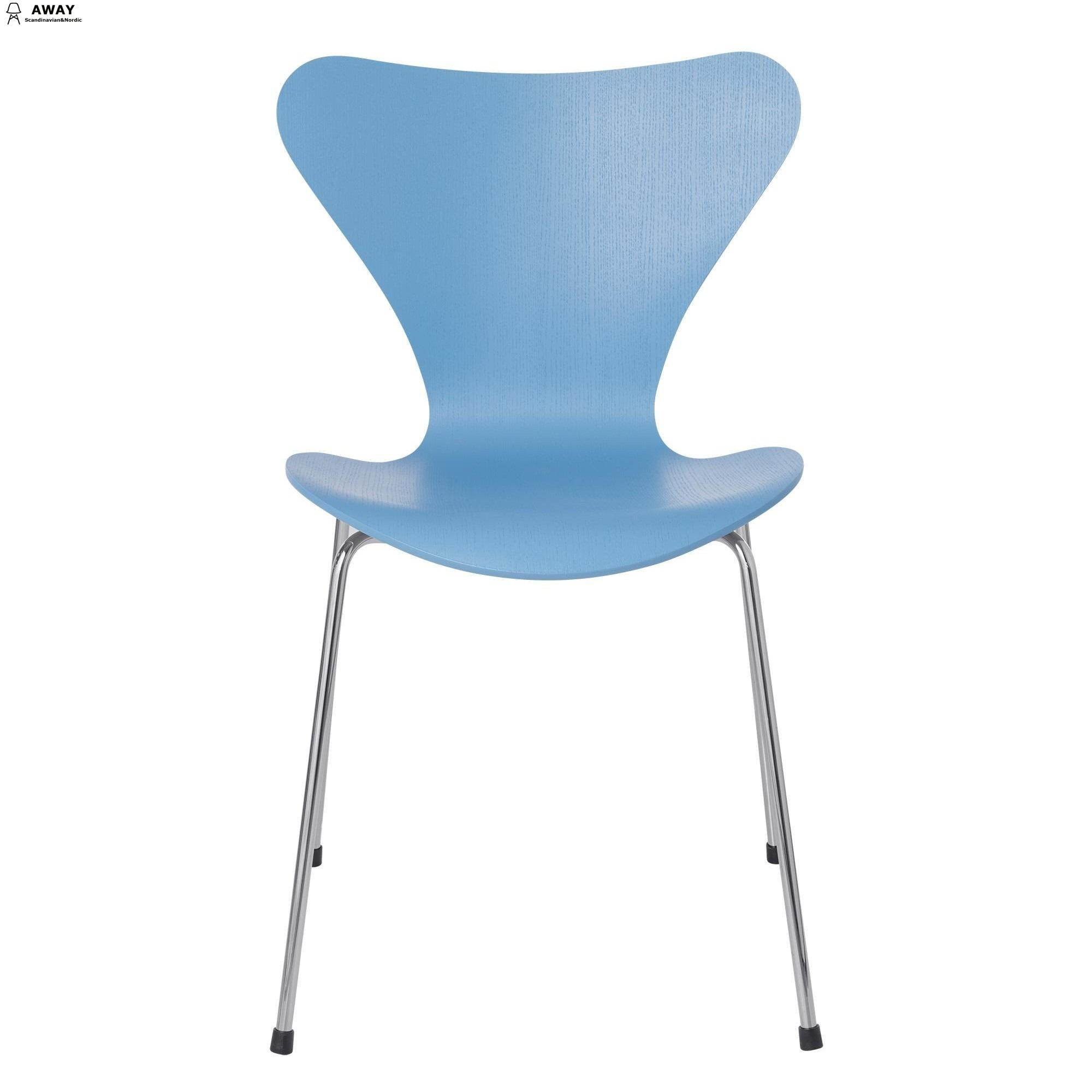 classic Serie 7 chair light blue
