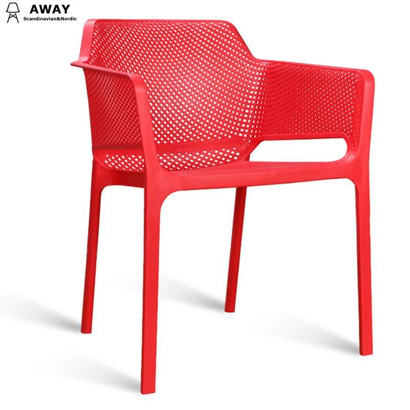 Nardi Net armchair Red