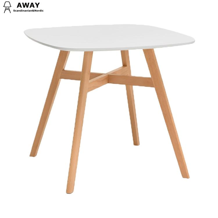 Scandinavian design wooden table